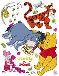Winnie the Pooh muurstickers XL