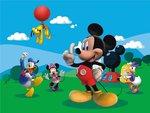 Mickey Mouse fotobehang XL vlies