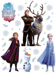 Frozen II muurstickers XL