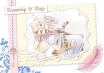 Winnie the Pooh poster Friendschip