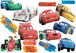 Cars muurstickers L