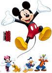 Mickey and Friends muurstickers