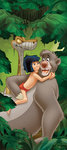 Jungle Book deurposter