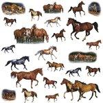 Paarden muurstickers