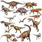 Dinosaurus muurstickers