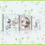 Mickey Mouse canvas 3-delige set