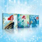 Canvas Ariel de kleine zeemeermin