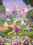 Disney Princess fotobehang Sunset