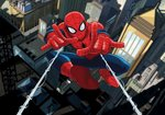Spiderman VLIES fotobehang XL
