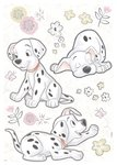 Best of Friends Dalmatiers stickers