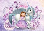 Sofia het prinsesje fotobehang Eenhoorn