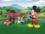 Mickey Mouse fotobehang Roadster XL