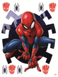 Spiderman muurstickers Xl Spider