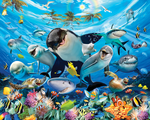 Onderwater behang Sea Adventure Walltastic