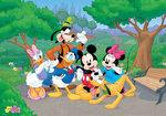 Mickey Mouse fotobehang Disney Club