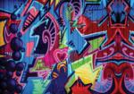 Graffiti Street Art fotobehang