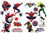 Spiderman muurstickers team heroes