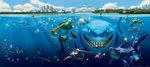 Finding Nemo poster Bruce H