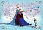 Frozen behang Zusjes