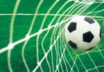 Voetbal fotobehang Goal
