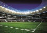 Voetbal behang Stadion 2 - XL