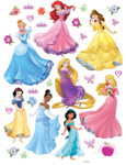 Disney Princess muurstickers XL nieuw