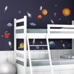 Ruimtevaart muurstickers Outer Space RoomMates