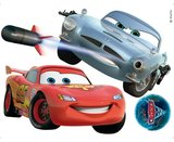 Cars muurstickers McQueen/McMissile XL