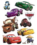 Cars muurstickers XL set Takel