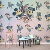 Mickey Mouse behang Fab5