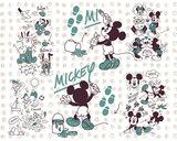 Mickey Mouse vliesbehang Friends