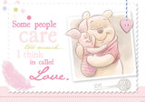 Winnie the Pooh behang Love XL