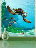 Finding Nemo behang M Zeeschildpad