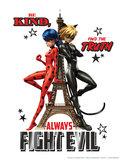 Miraculous: Ladybug en Cat Noir poster