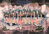 Graffiti vliesbehang Brotherhood