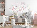Eenhoorn muurstickers babykamer