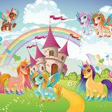 Flying Pony behang Magic Kingdom
