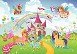 Pony behang kinderkamer