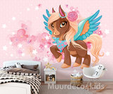 Flying Pony kinderkamer behang