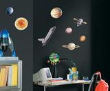 Ruimtevaart muurstickers Space