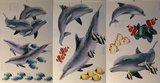 Dolfijnen muurstickers 6 vellen_