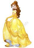 Disney Princess muursticker Belle