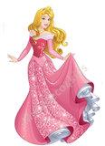 Disney Princess muursticker Doornroosje