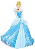Disney Princess muursticker Assepoester