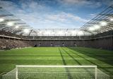 Voetbal stadion fotobehang 4 - XL