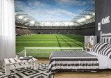 Voetbal stadion fotobehang