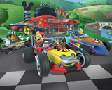 Mickey Mouse Roadster Racers behang - WT