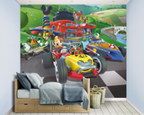 Mickey Mouse fotobehang Roadster Racers