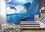 Dolfijnen behang