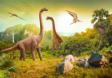 Dinosaurus vliesbehang Dinowereld